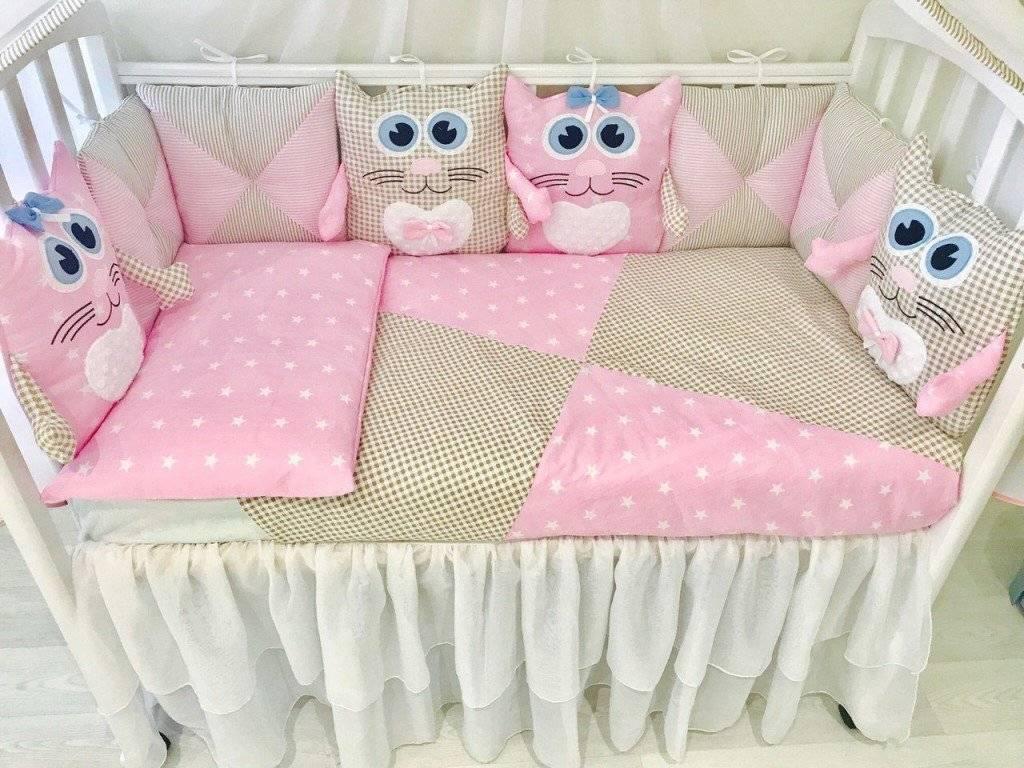 Как сшить бортики в кроватку для новорожденных своими руками? защитный бортик для детской кровати