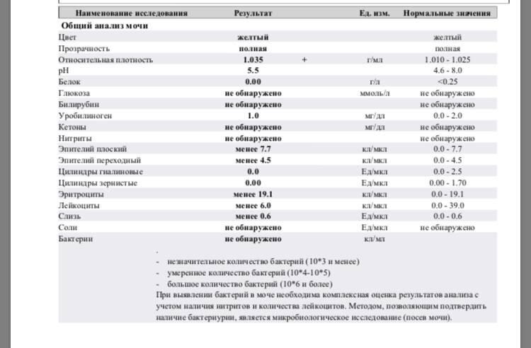 Кетоновые тела в моче и кетонурия (кетоны в моче) – норма, симптомы, лечение