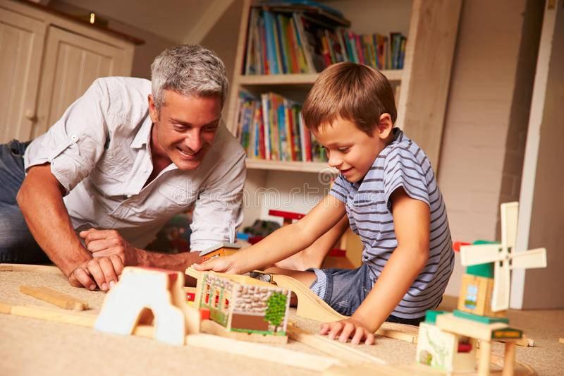 Игры папы с ребенком