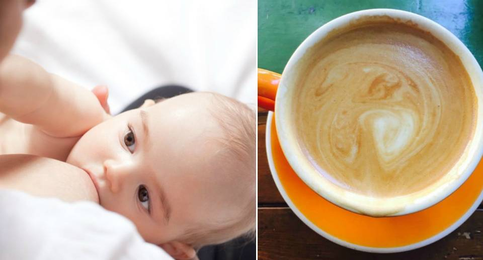 Кофе при грудном вскармливании, можно или нельзя
