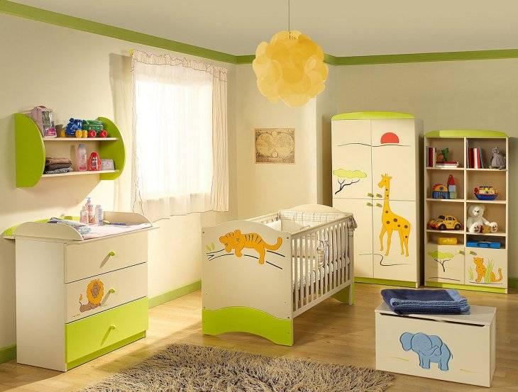 Оформление детской комнаты — что безопасно для новорожденного?