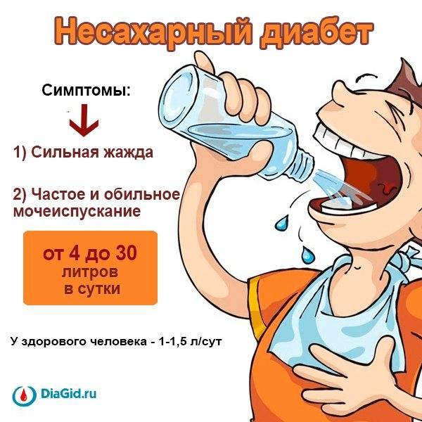 Лечение несахарного диабета