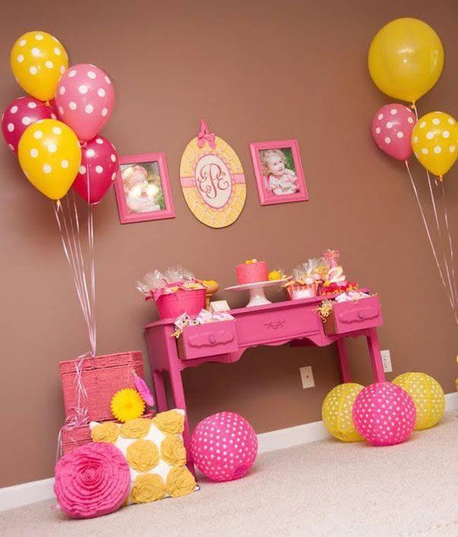 Украсить комнату на рождение ребенка своими руками + 140 фото