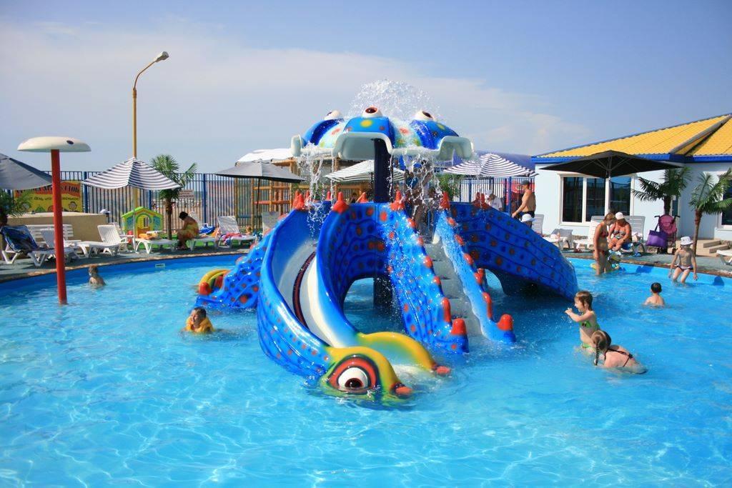 Топ 5 аквапарков на чёрном море