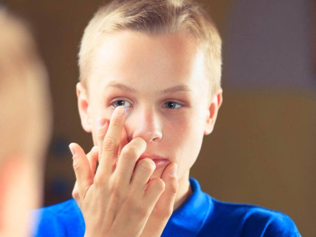 «контактные линзы – на радость детям и их родителям»