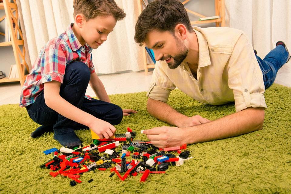 9 веселых игр папы с ребёнком