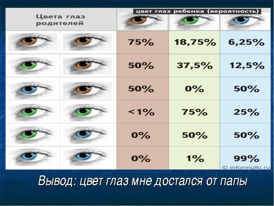 Цвет глаз у новорожденных: когда меняется у детей, каким будет окончательный цвет радужки