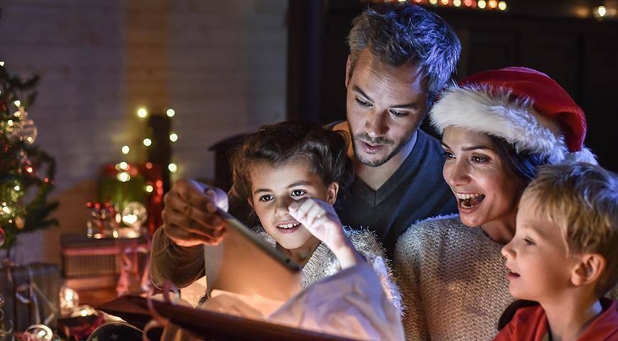 Сценарий развлечения «рождественские игры»