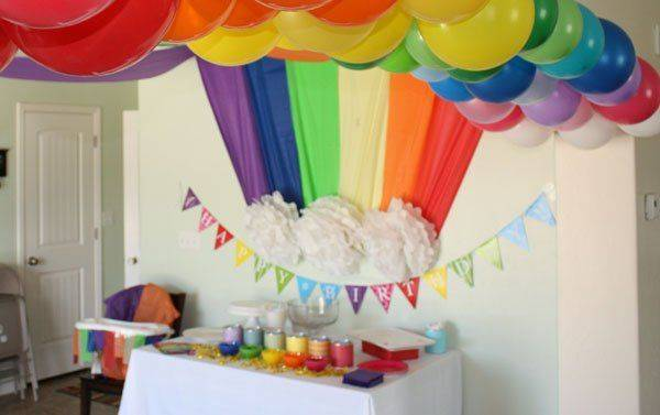 Как украсить комнату к дню рождения ребенка своими руками?