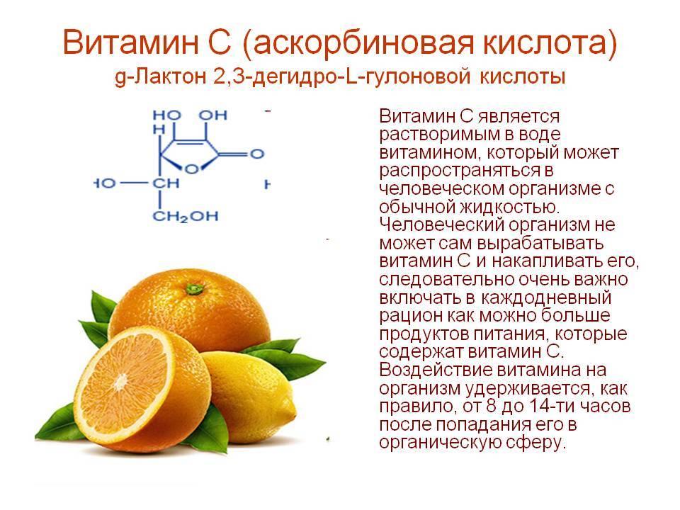 Витамин с с глюкозой