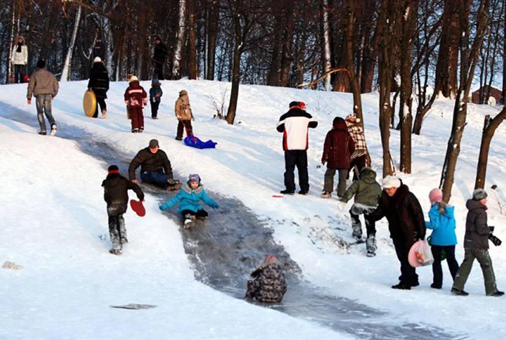 Игры зимой на улице - подвижные зимние игры и забавы