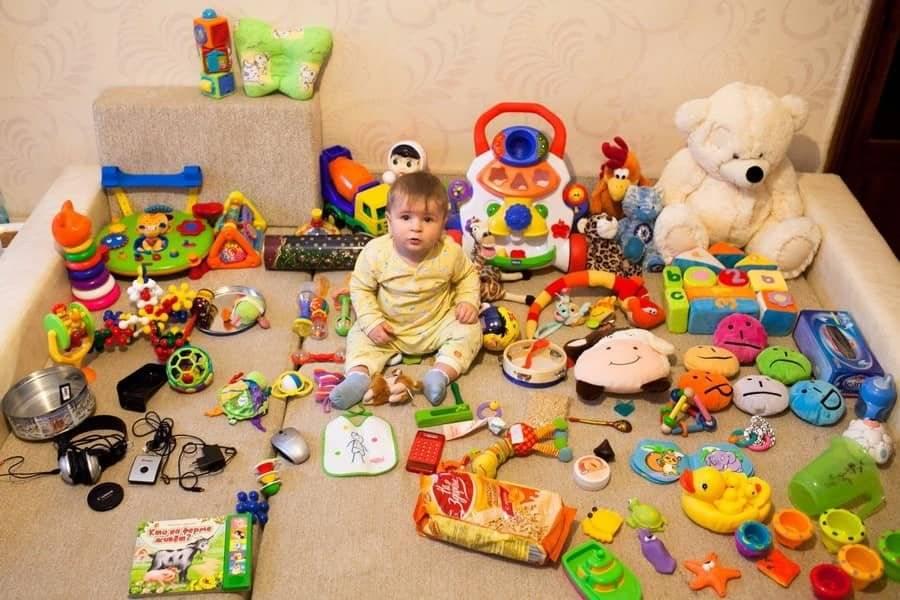 Развивающие игры с ребенком 8-9 месяцев