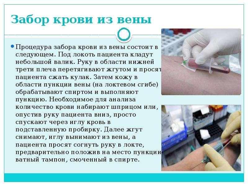 Подготовка к сдаче анализа на сифилис - медицинский центр на ленинском