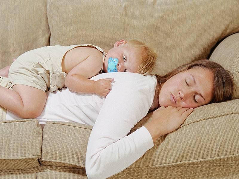 Советы для укладывания ребенка без грудного вскармливания