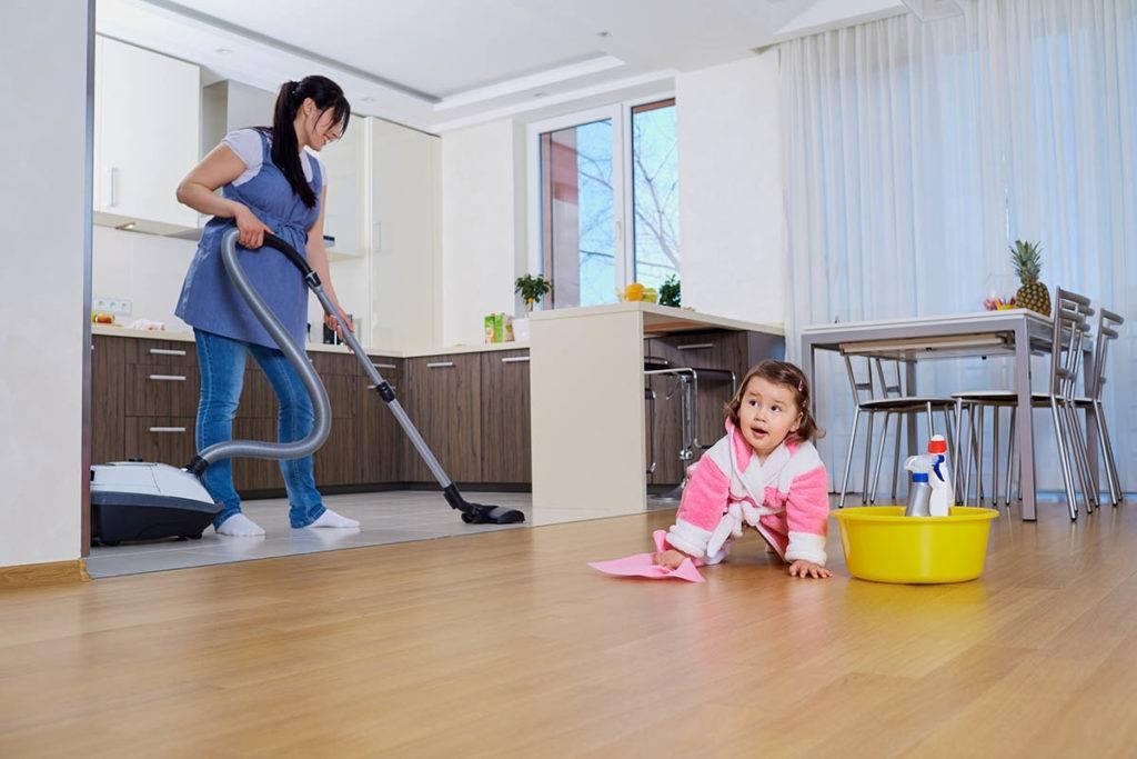 Помощь ребёнка по дому и обязанности детей в семье