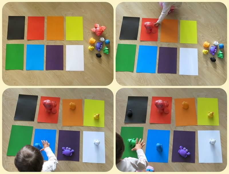 Как научить ребенка различать цвета: формирование, ошибки, игры