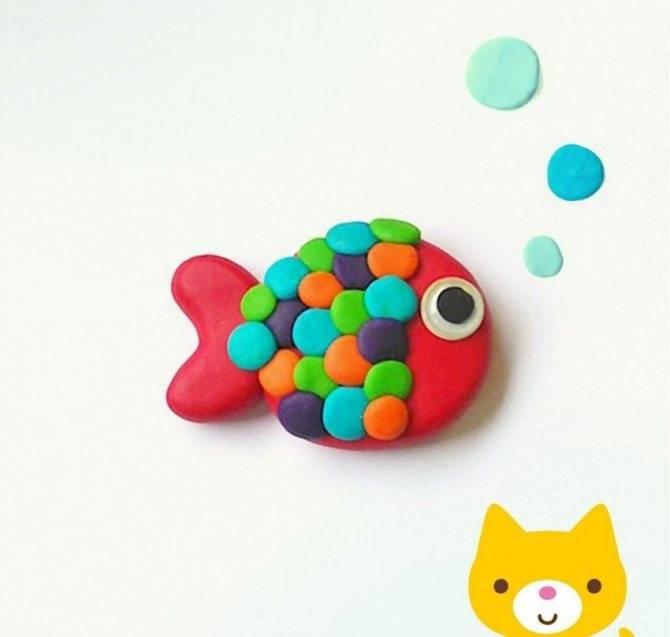 Поделки из пластилина для детей: схемы и оригинальные украшения для детей от 2 до 6 лет