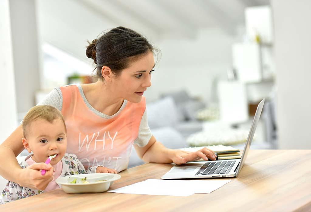 Как совместить работу и ребенка женщине - работающая мама